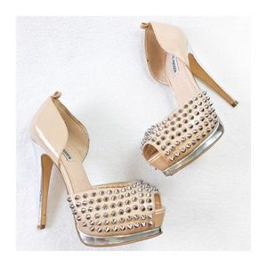 STEVE MADDEN OBSTCL-S Studded Pumps 8.5